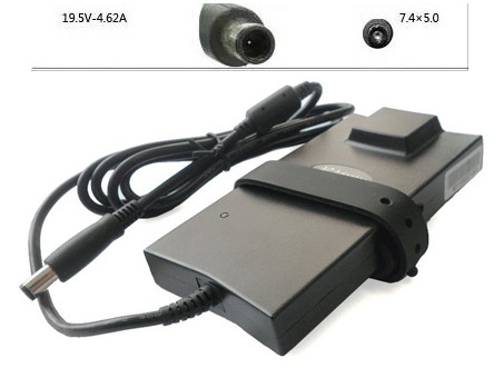 PC PORTABLE Chargeur / Alimentation Secteur Compatible Pour  2H098,90W 19.5V 4.62A AC Adapter For Dell PA-10 2H098 310-7712